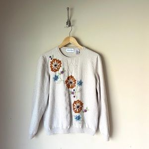 Alfred Dunner | Embroidered Sweater